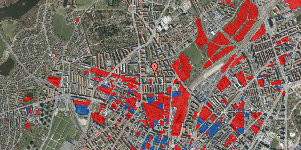 Jordforureningskort på Landsdommervej 20, 2400 København NV
