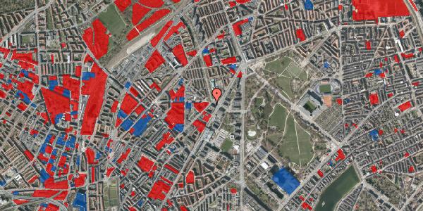 Jordforureningskort på Sifs Plads 13, 2100 København Ø