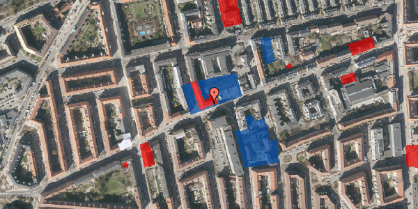 Jordforureningskort på Nygårdsvej 34, 2. 1, 2100 København Ø