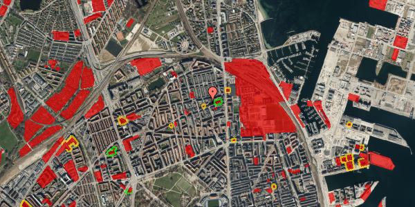 Jordforureningskort på Nygårdsvej 16B, st. , 2100 København Ø