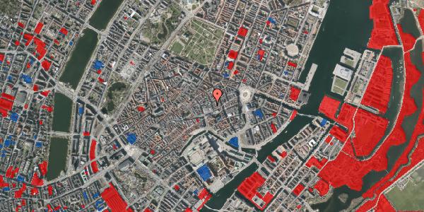 Jordforureningskort på Pilestræde 7, 1112 København K