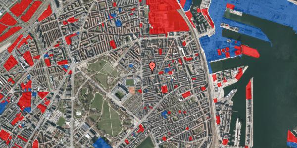 Jordforureningskort på Viborggade 14A, 2100 København Ø