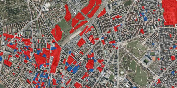 Jordforureningskort på Vermundsgade 38, 1. tv, 2100 København Ø