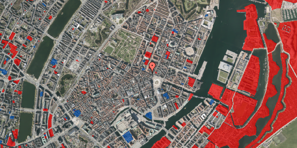 Jordforureningskort på Gothersgade 11, 1123 København K