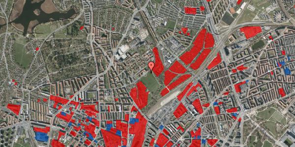 Jordforureningskort på Bispebjerg Bakke 14, 2400 København NV
