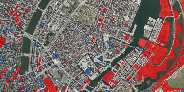 Jordforureningskort på Nikolaj Plads 18, 1067 København K