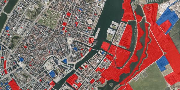 Jordforureningskort på Nyhavn 69, 1051 København K