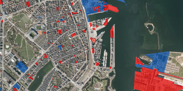 Jordforureningskort på Kalkbrænderihavnsgade 4A, 4. th, 2100 København Ø