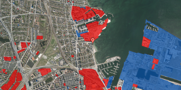 Jordforureningskort på Strandpromenaden 67, st. , 2100 København Ø