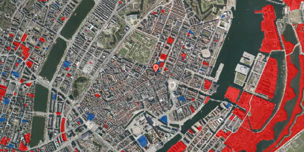 Jordforureningskort på Ny Østergade 21, 1. , 1101 København K