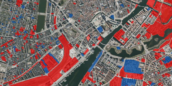 Jordforureningskort på Anker Heegaards Gade 7, 4. , 1572 København V