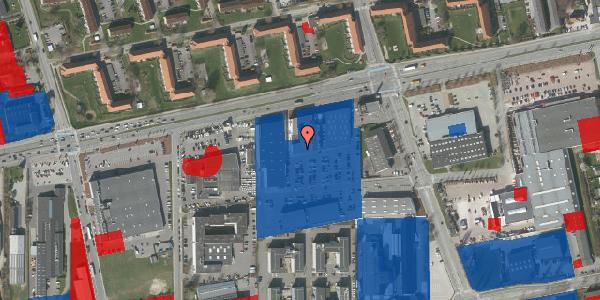Jordforureningskort på Hermods Allé 6, 2600 Glostrup