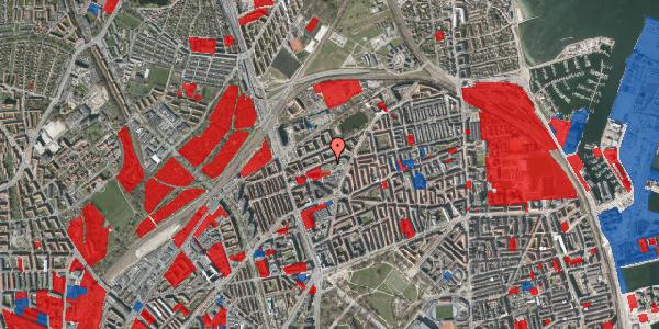 Jordforureningskort på Venøgade 24, 4. tv, 2100 København Ø