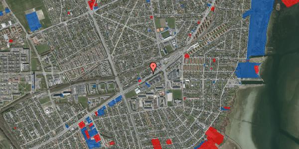 Jordforureningskort på Gammel Køge Landevej 376B, 2650 Hvidovre