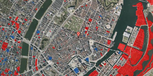 Jordforureningskort på Gammel Mønt 39, 1117 København K