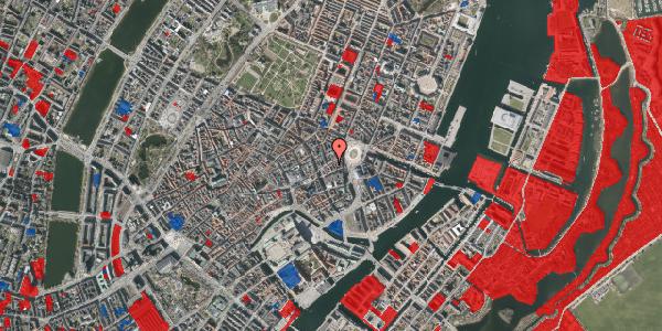 Jordforureningskort på Østergade 13, 1. th, 1100 København K