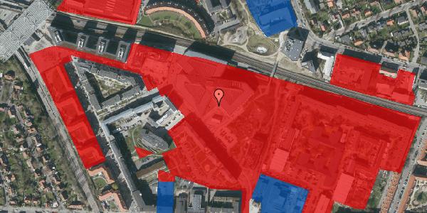 Jordforureningskort på Marguerite Vibys Plads 7, st. , 2000 Frederiksberg