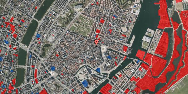 Jordforureningskort på Ny Østergade 11, 4. , 1101 København K