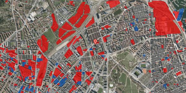 Jordforureningskort på Haraldsgade 70, st. , 2100 København Ø