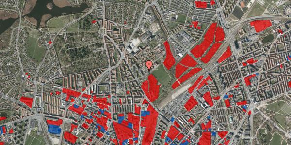 Jordforureningskort på Bispebjerg Bakke 13, 2400 København NV