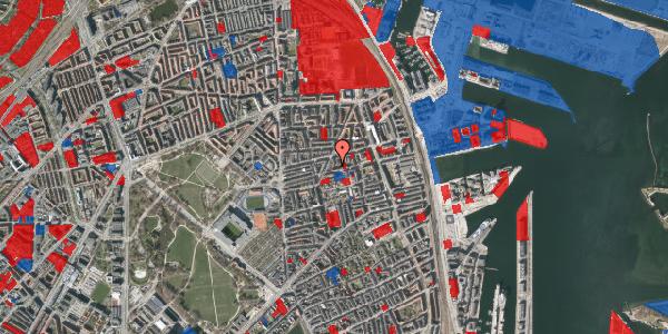 Jordforureningskort på Viborggade 47A, 1. , 2100 København Ø
