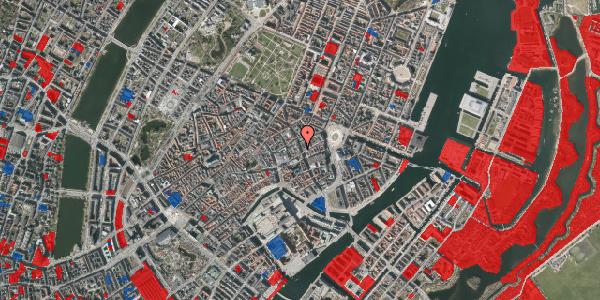 Jordforureningskort på Kristen Bernikows Gade 3, 1105 København K