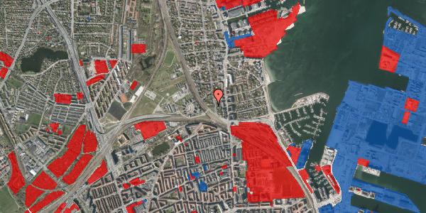 Jordforureningskort på Ryvangs Allé 4E, 2100 København Ø
