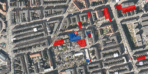 Jordforureningskort på Viborggade 70D, 1. , 2100 København Ø