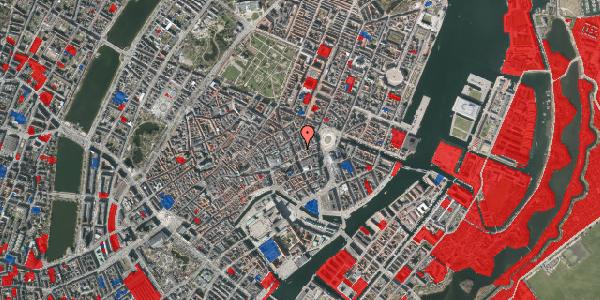 Jordforureningskort på Østergade 24A, 3. tv, 1100 København K