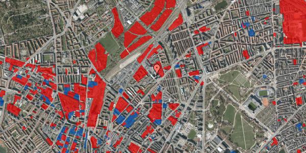 Jordforureningskort på Vermundsgade 38, 4. , 2100 København Ø