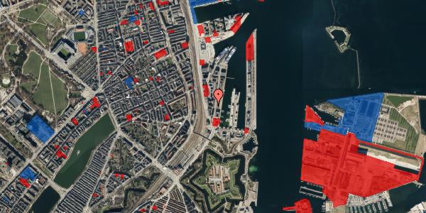 Jordforureningskort på Amerika Plads 3D, 9. , 2100 København Ø
