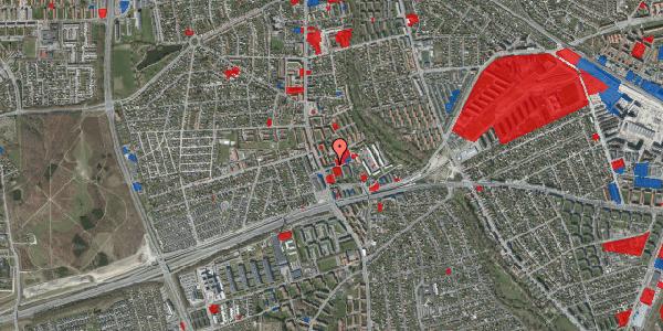 Jordforureningskort på Baunebakkevej 8, 1. th, 2650 Hvidovre