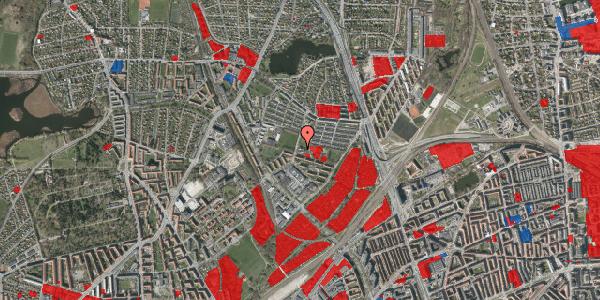 Jordforureningskort på Keldsøvej 15, 2100 København Ø