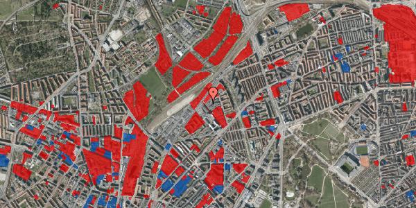 Jordforureningskort på Emblasgade 7, 1. tv, 2100 København Ø