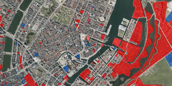 Jordforureningskort på August Bournonvilles Passage 5, 1055 København K