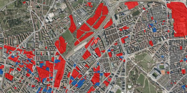 Jordforureningskort på Emblasgade 71, 2100 København Ø