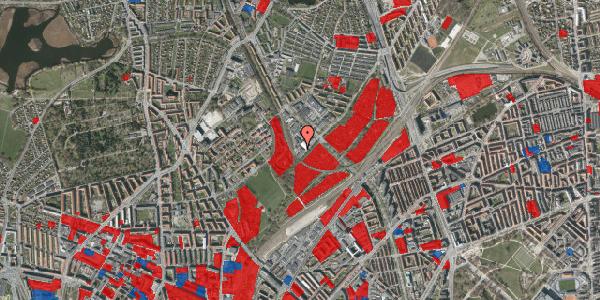 Jordforureningskort på Strødamvej 50C, 2100 København Ø
