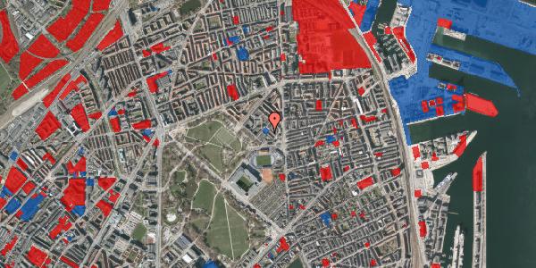 Jordforureningskort på Østerfælled Torv 33, 2100 København Ø