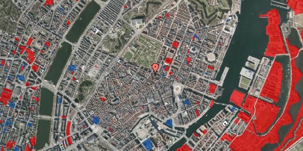 Jordforureningskort på Christian IX's Gade 7, 4. , 1111 København K