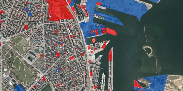 Jordforureningskort på Marmorvej 11B, 2. th, 2100 København Ø
