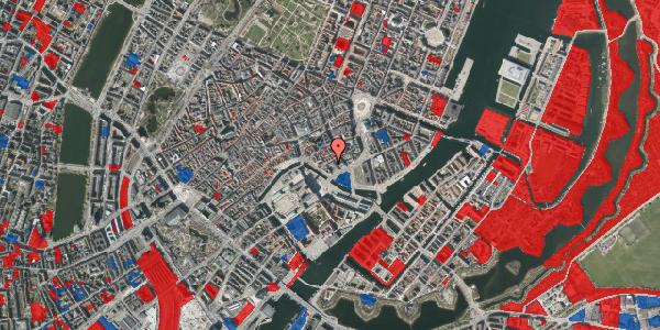 Jordforureningskort på Admiralgade 27, 1. , 1066 København K