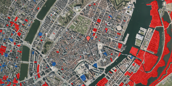 Jordforureningskort på Gammel Mønt 19A, 4. tv, 1117 København K