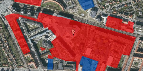 Jordforureningskort på Marguerite Vibys Plads 14, st. , 2000 Frederiksberg
