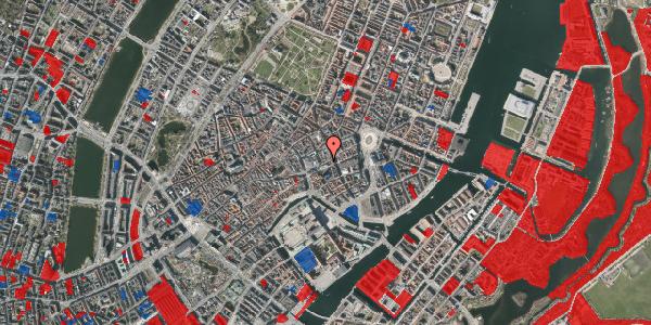 Jordforureningskort på Østergade 42B, 1. , 1100 København K