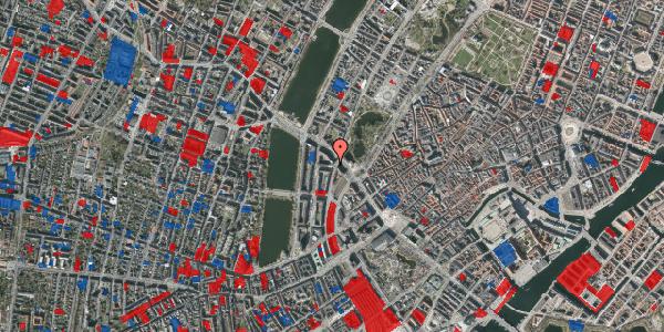 Jordforureningskort på Vester Farimagsgade 41, 3. tv, 1606 København V