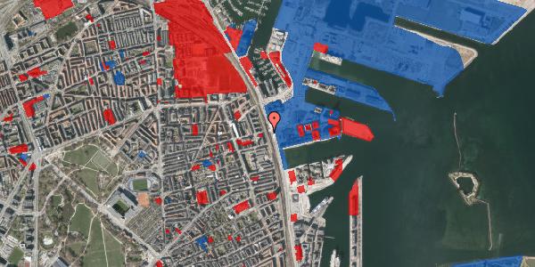 Jordforureningskort på Århusgade 116, 2100 København Ø