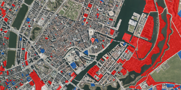 Jordforureningskort på Holmens Kanal 10, 1060 København K