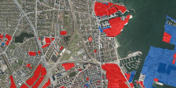 Jordforureningskort på Vestagervej 3, 2100 København Ø