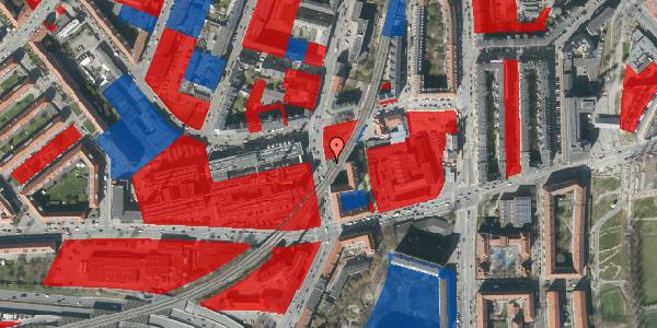 Jordforureningskort på Nordre Fasanvej 204A, 2000 Frederiksberg