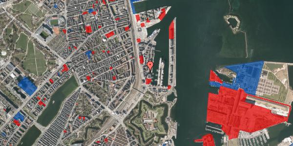 Jordforureningskort på Dampfærgevej 9, 2100 København Ø